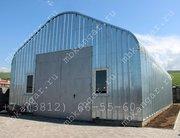 Производство арочных бескаркасных ангаров